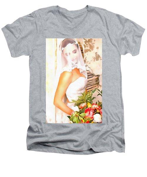 June Bride Men's V-Neck T-Shirt
