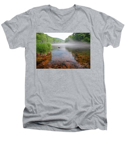 June Morning Mist Men's V-Neck T-Shirt