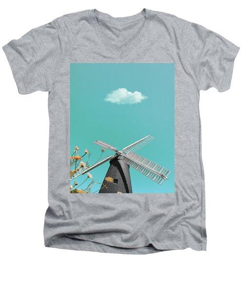 Just Breathe Men's V-Neck T-Shirt