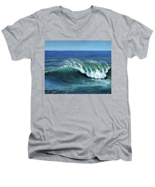 Ka Aniana Nalu Men's V-Neck T-Shirt