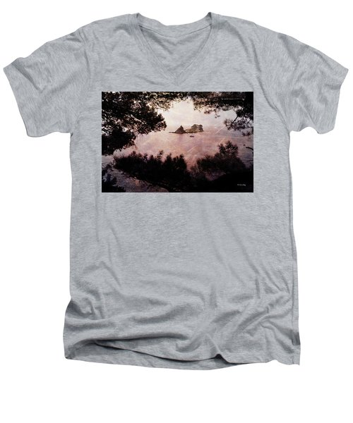 Men's V-Neck T-Shirt featuring the photograph Katic And Sveta Nedelja by Randi Grace Nilsberg