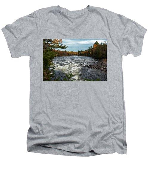 Kennebec River Men's V-Neck T-Shirt