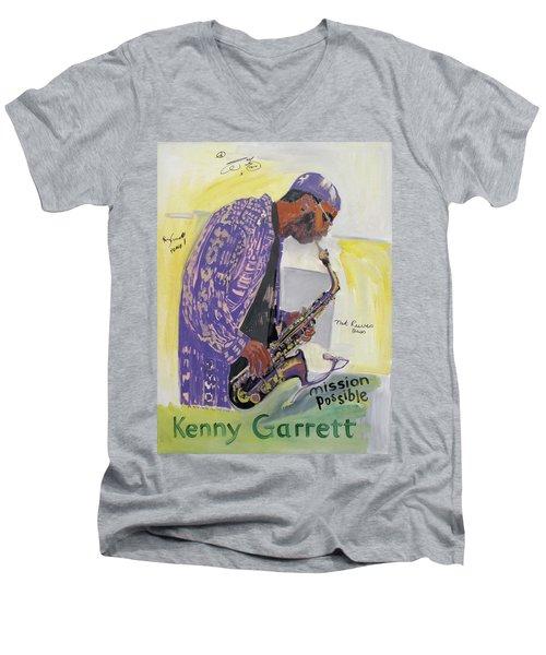 Kenny Garrett Men's V-Neck T-Shirt
