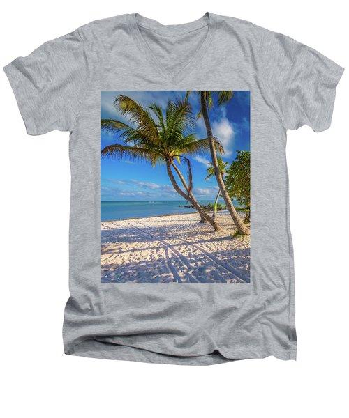 Key West Florida Men's V-Neck T-Shirt