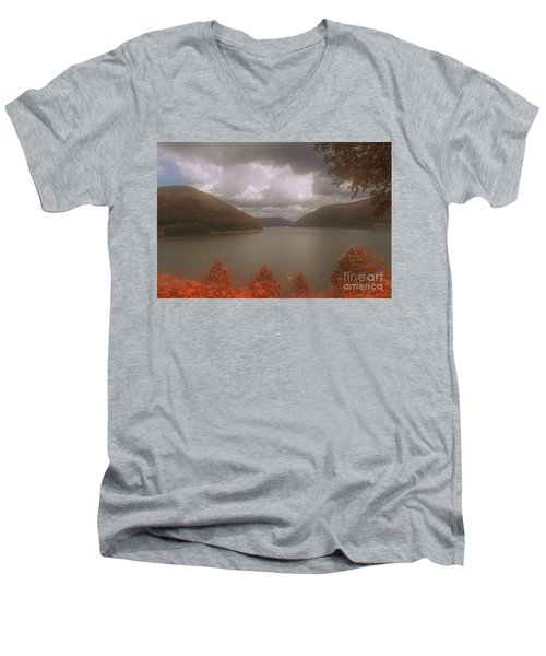 Kinzua Lake Men's V-Neck T-Shirt