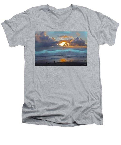 Behold Men's V-Neck T-Shirt