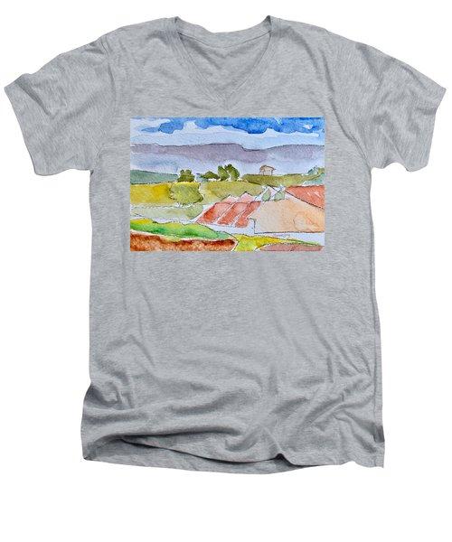 Laguna Del Sol #4 Men's V-Neck T-Shirt