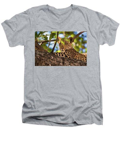 Lc11 Men's V-Neck T-Shirt