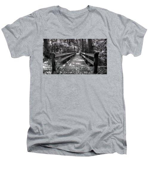 Leelanau Trail Men's V-Neck T-Shirt