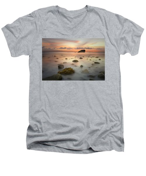 Malibu Sunset Men's V-Neck T-Shirt