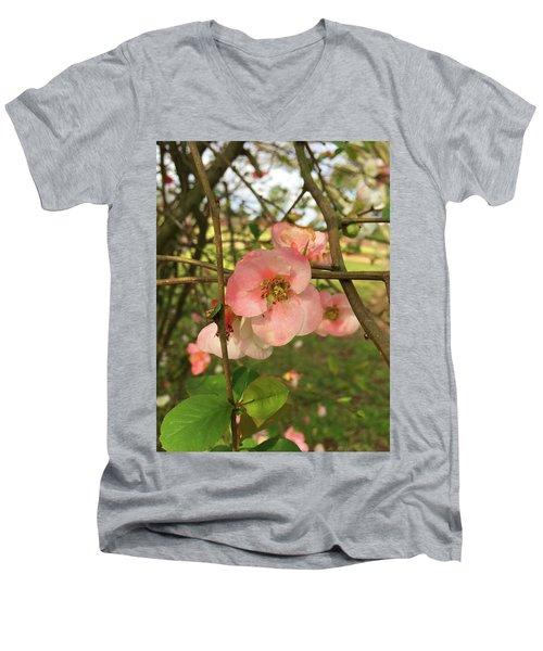 Life Goes On Men's V-Neck T-Shirt