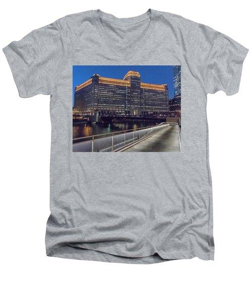 Lighted Walk Men's V-Neck T-Shirt
