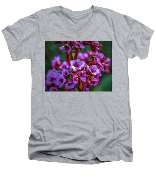 Lilac #h9 Men's V-Neck T-Shirt