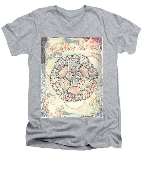Link Men's V-Neck T-Shirt