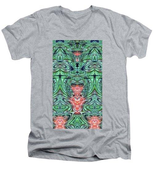 Liquid Cloth Men's V-Neck T-Shirt