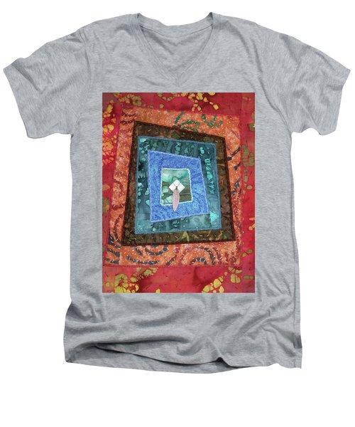 Little Feather Men's V-Neck T-Shirt