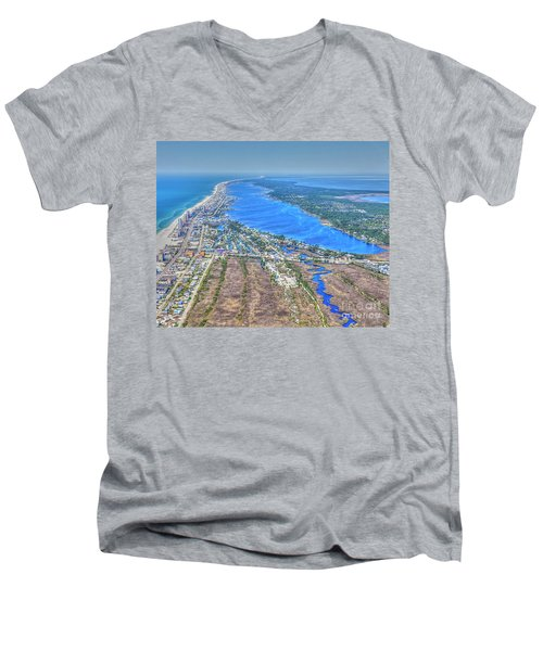 Little Lagoon 7489 Men's V-Neck T-Shirt