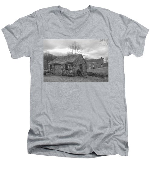 Lock House And Store - Waterloo Village Men's V-Neck T-Shirt