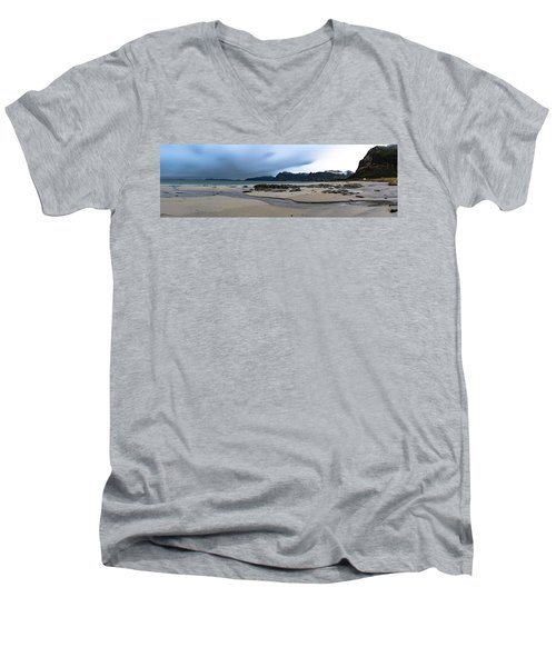 Lofoten Beach Men's V-Neck T-Shirt