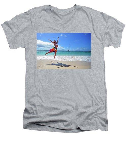 Lollick Frolic Men's V-Neck T-Shirt