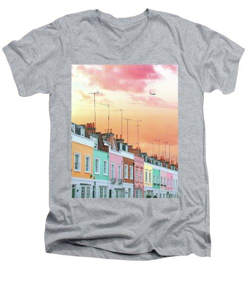 London Dreams Men's V-Neck T-Shirt