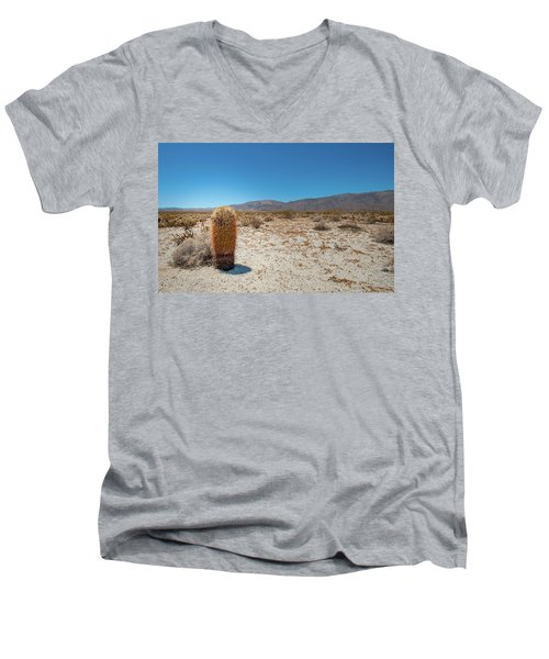 Lone Barrel Cactus Men's V-Neck T-Shirt