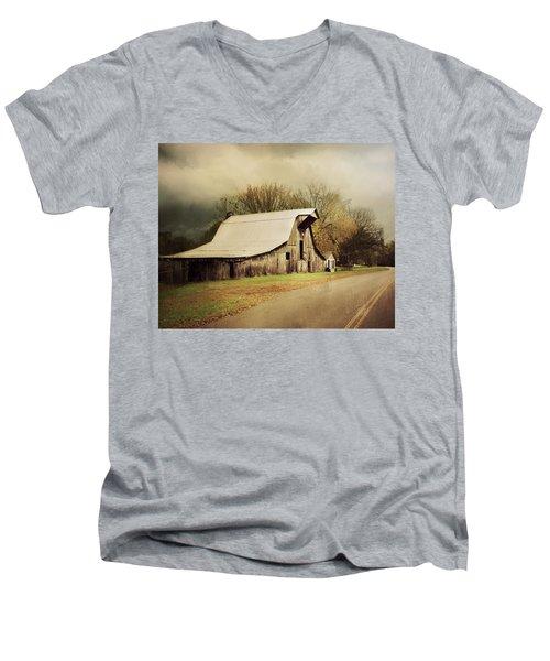 Look Both Ways Men's V-Neck T-Shirt