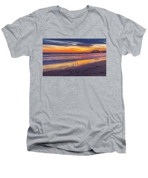 Look Out Below Men's V-Neck T-Shirt