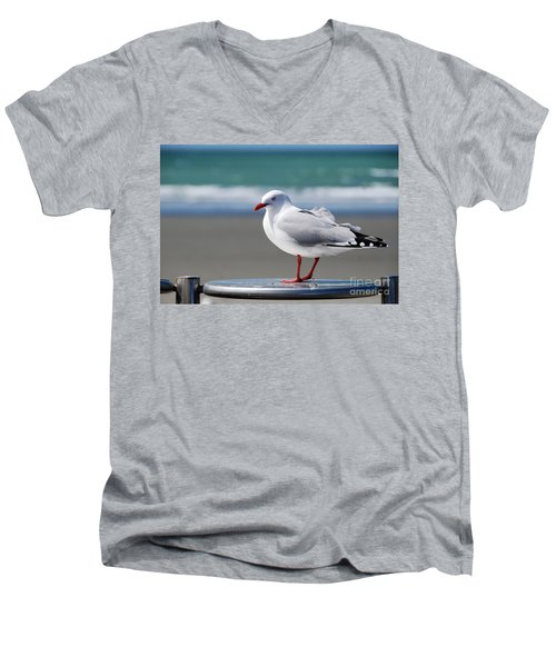 Looking For A Handout Men's V-Neck T-Shirt