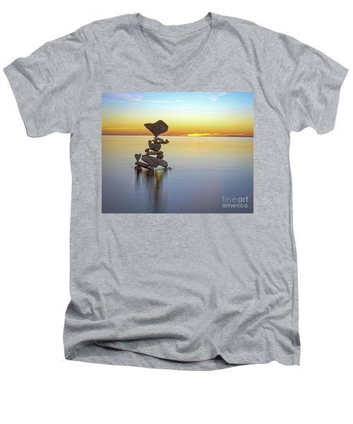Love Touch Men's V-Neck T-Shirt