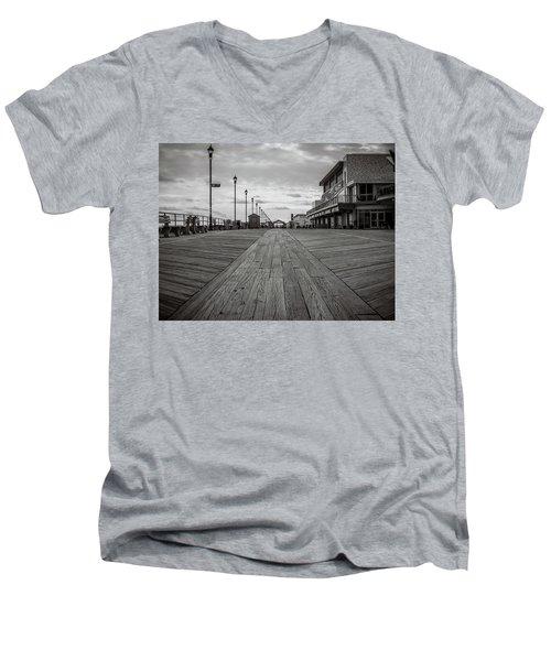 Low On The Boardwalk Men's V-Neck T-Shirt