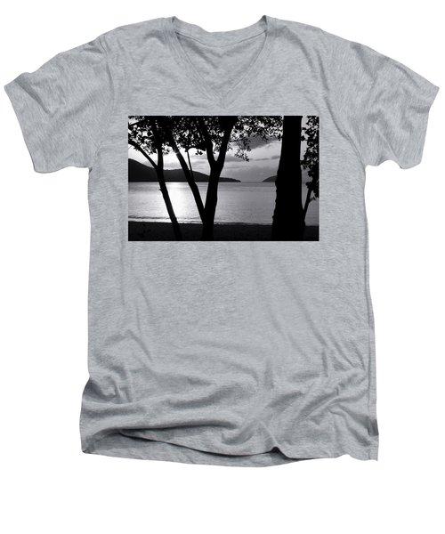 Magens Down Men's V-Neck T-Shirt