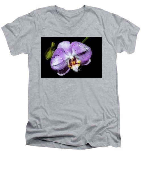 Magenta Phal Men's V-Neck T-Shirt