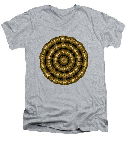 Magic Brass Rings For Apparel Men's V-Neck T-Shirt