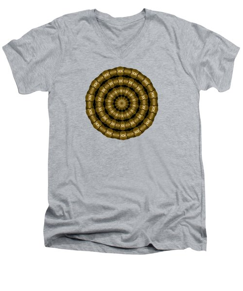 Magic Brass Rings For Apparel Men's V-Neck T-Shirt