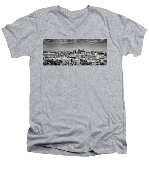 Magic City Skyline Men's V-Neck T-Shirt