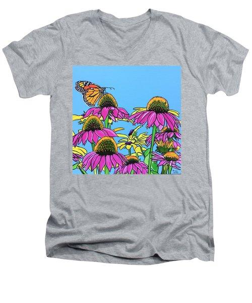 Magnificant Monarch Men's V-Neck T-Shirt
