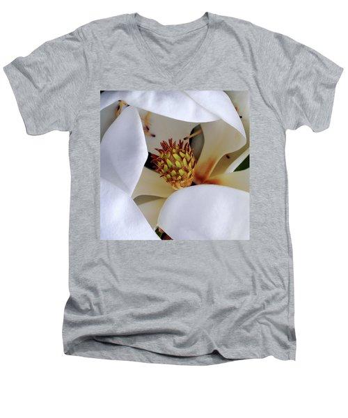 Magnolia Men's V-Neck T-Shirt