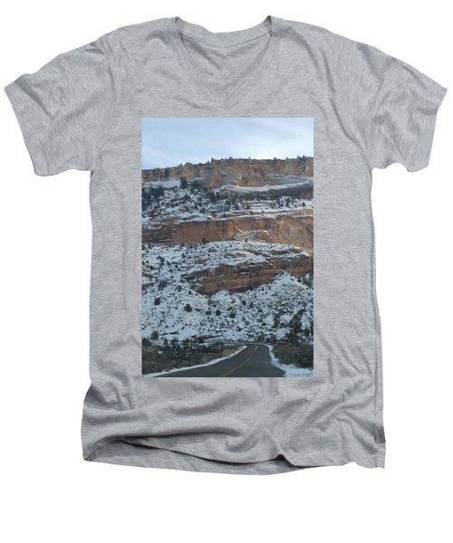 Majestic View Men's V-Neck T-Shirt