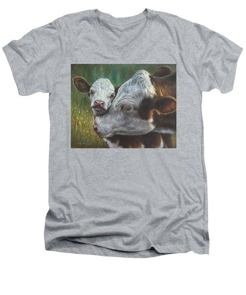 Mama's Boy Men's V-Neck T-Shirt