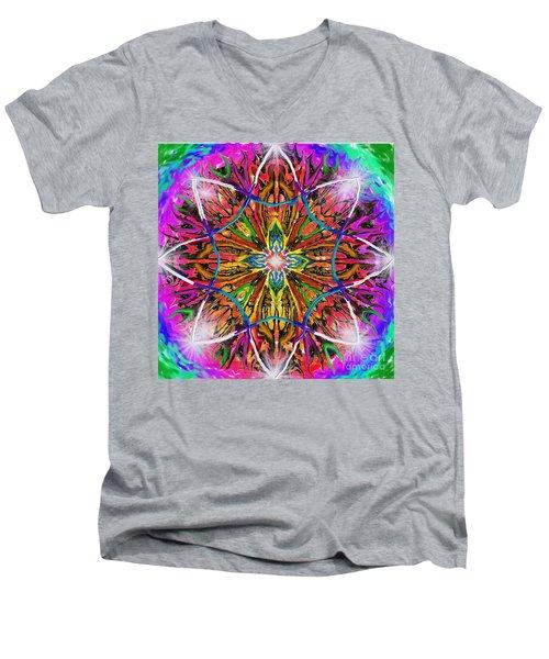 Mandala 12 11 2018 Men's V-Neck T-Shirt