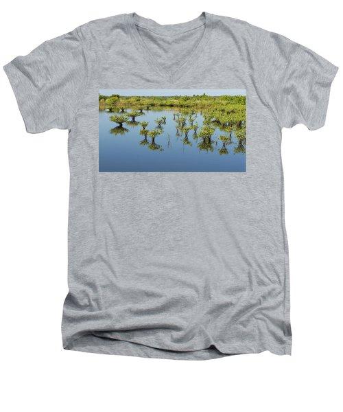 Mangrove Nursery Men's V-Neck T-Shirt