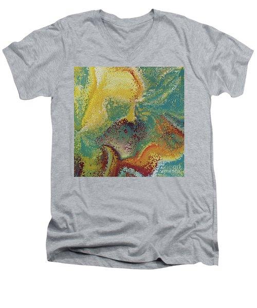 Matthew 11 28. Come To Me Men's V-Neck T-Shirt