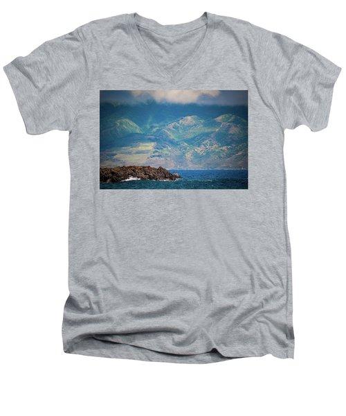 Maui Fisherman Men's V-Neck T-Shirt