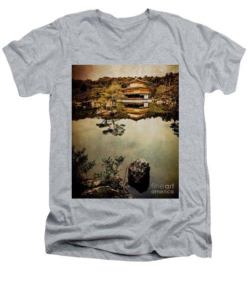 Memories Of Japan 1 Men's V-Neck T-Shirt