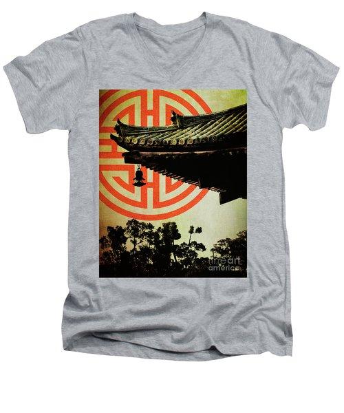 Memories Of Japan 5 Men's V-Neck T-Shirt