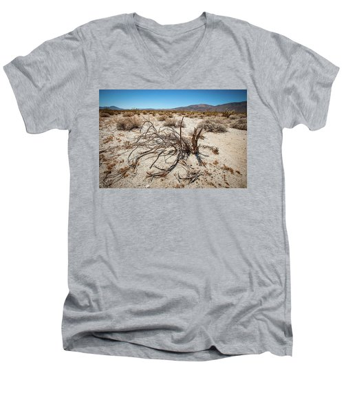 Mesquite In The Desert Sun Men's V-Neck T-Shirt