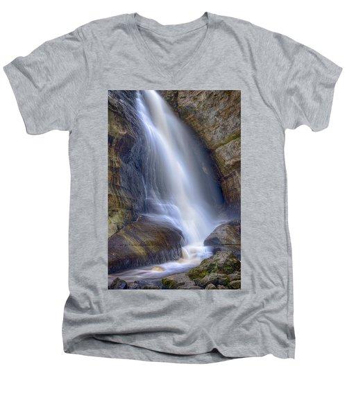 Miners Falls Men's V-Neck T-Shirt