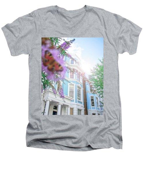 Misty Men's V-Neck T-Shirt