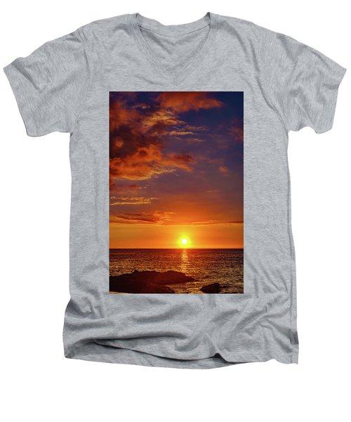 Monday Sunset Men's V-Neck T-Shirt